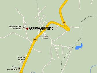Lokacija Apartmana