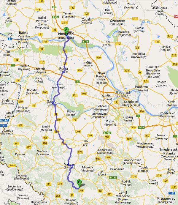 mapa srbije divcibare Kako Doći | Apartmani Repic Divcibare Smestaj mapa srbije divcibare